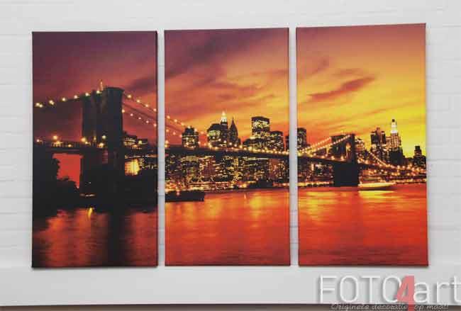 Foto op canvas in groot formaat