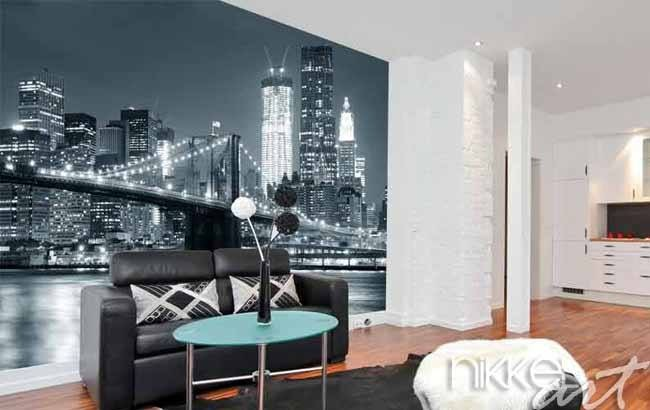 Een unieke wand in huis? Koop fotobehang bruggen