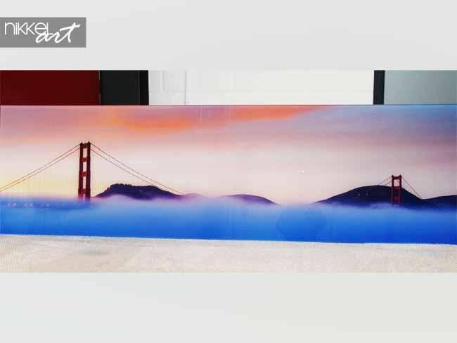 Panoramic acrylic prints